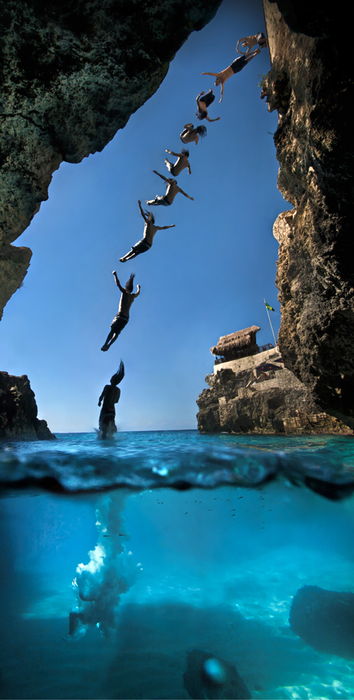 Cliff Diving, Negril, Jamaica photo via google