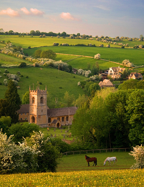 Pastoral Beauty, Naunton, England photo by flashoflight