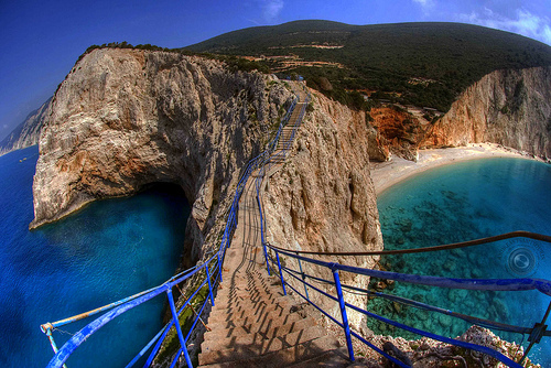 Porto Katsiki, Greece photo via assortedjams