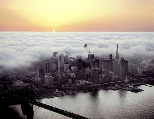 Sunset Fog, San Francisco, California