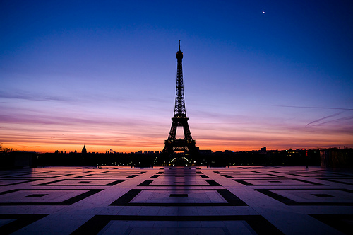 Eiffel Tower, Paris, France photo via