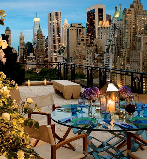 Patio View, New York City photo via erkan