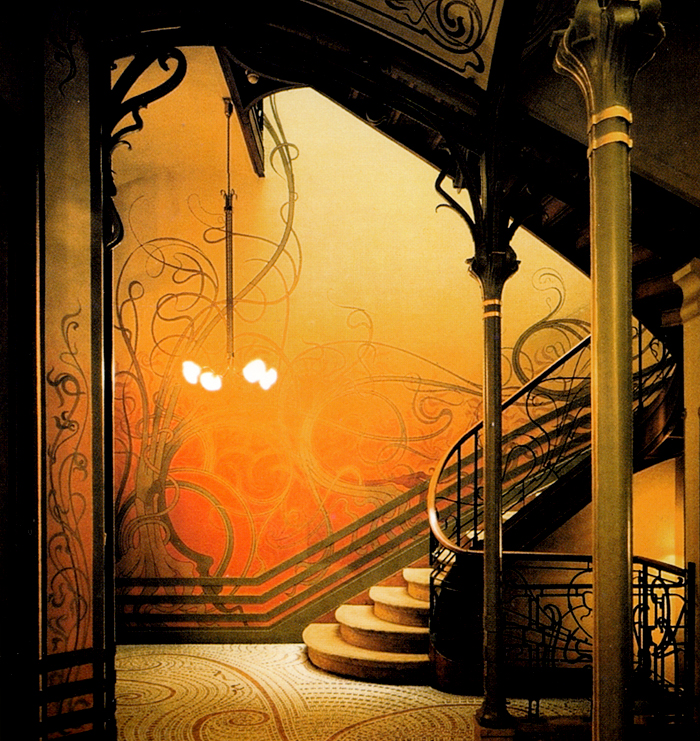 Tessel House in Brussels by Victor Horta