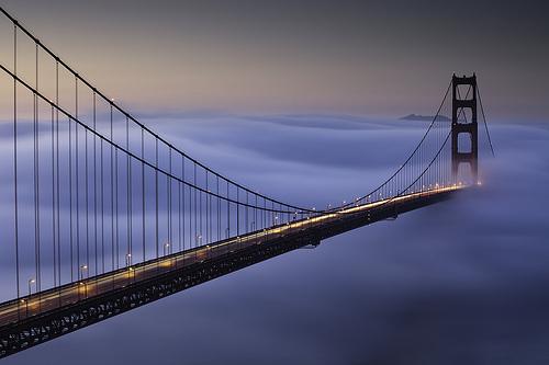 Foggy Sunrise At the Golden Gate Bridge - Day 3