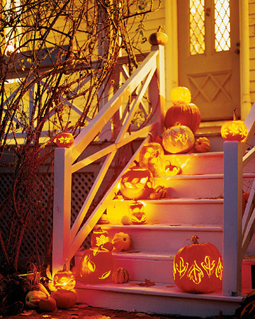 Halloween Porch, Columbus, Ohio photo via homedesign