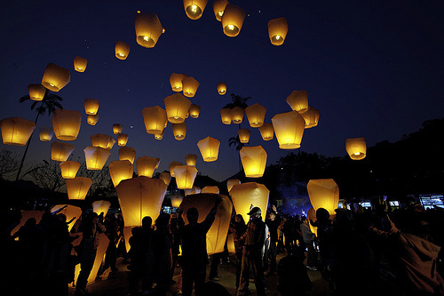 Lanterns, Taiwan phot via