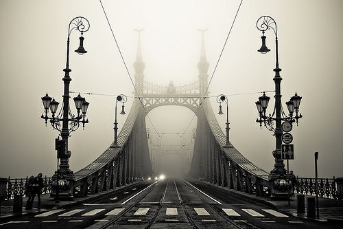 The Bridge  Gellert, Budapest, Hungary photo via theworldwelivein
