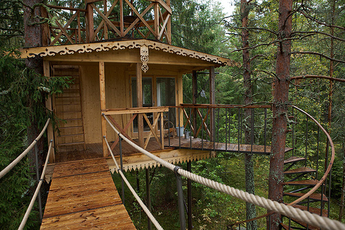 Treehouse Sweden