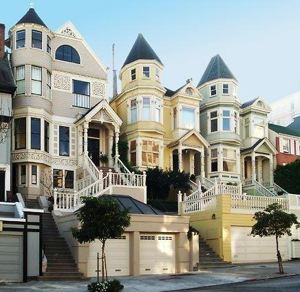 Victorian Spires, San Francisco photo via