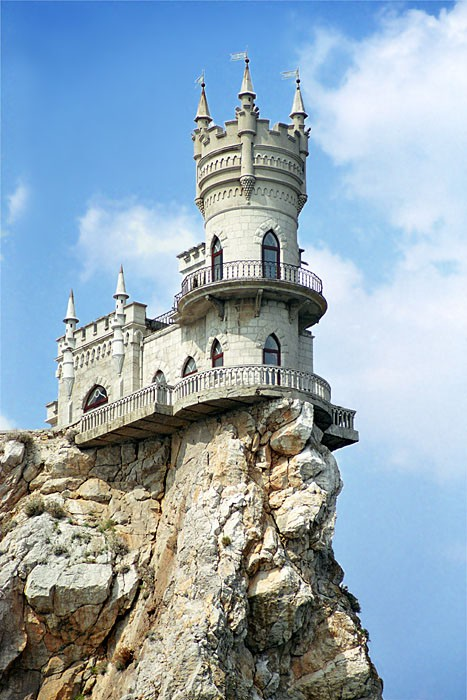 Swallow's Nest Castle, Crimea, Ukraine photo via fromeuropewithlove